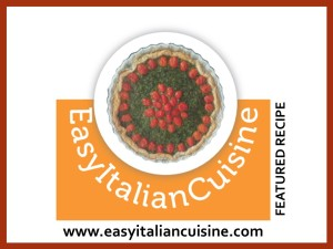 EASY ITALIAN CUISINE FEATURED RECIPE - RED